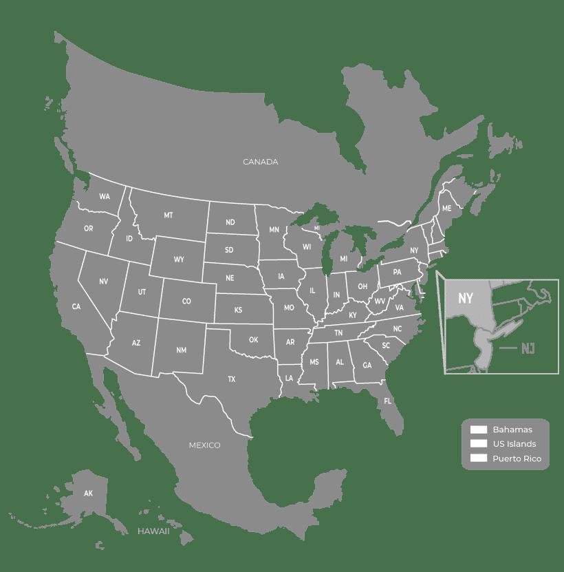 Sale Region Map